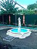 Фонтан. Девушка с кувшином. Большой бассейн.