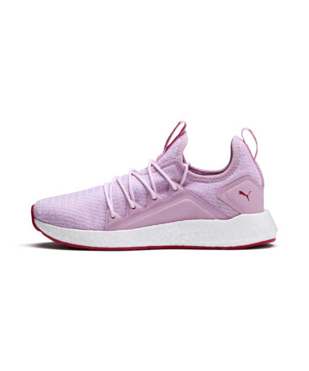 Розовые женские кроссовки PUMA NRGY NEKO KNIT JR