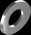 DIN137A Шайба пружинна вигнута М8 оцинкована (500 шт/уп)