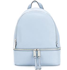 Практичный и очаровательный дамский рюкзак!  голубой