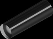DIN1 Штифт 5х60 конический незакаленный бп (100 шт/уп)