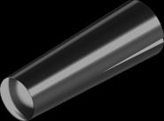 DIN1472 Штифт 4,0х16 конусн бп насіч/півдовжини