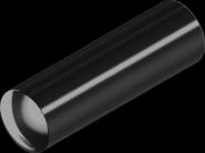 DIN7 Штифт 1х6 цилиндрический незакаленный бп (25 шт/уп)