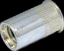 RSr-Гайка клепальная рыфленая М3/2-3,5 с уменьшенной потайной головкой D5 (500 шт/уп)