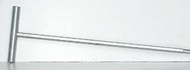 Т-образная ручка для ершика L300 сталь