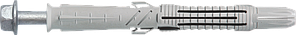 Prolongi-Hd Анкер 10х100/30 нейлон Delta гвинт6гр (50 шт/уп)
