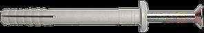 UCX-b Дюбель быстрого монтажа 6х60 нейлоновый с ударным шурупом с буртиком (100 шт/уп)