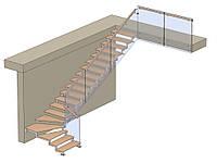 Лестница с поворотом на 90 градусов, фото 1