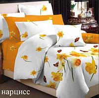 Постельное белье Нарцис евро размер