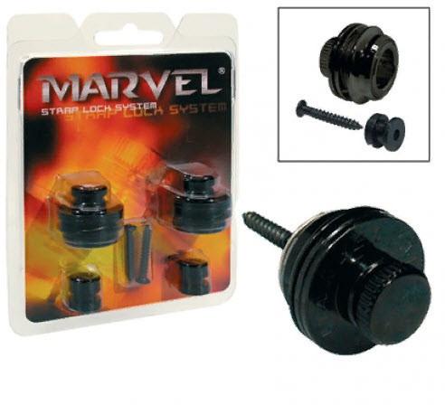 PAXPHIL MVS501 (BK) Стреплоки Marvel для ремня