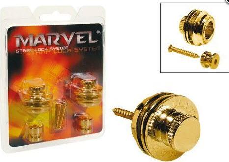 PAXPHIL MVS501 (GD) Стреплоки Marvel для ремня