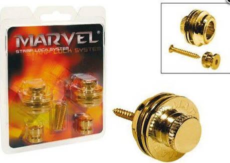 PAXPHIL MVS501 (GD) Стреплоки Marvel для ремня, фото 2