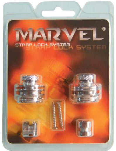 PAXPHIL MVS501 (NI) Стреплоки Marvel для ремня