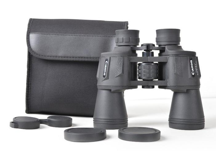 Бинокль Canon 20x50, водонепроницаемый