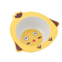 Детская тарелка из бамбука BoxShop Chick (DP-4737), фото 1