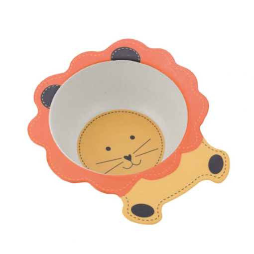 Детская тарелка из бамбука BoxShop Lion (DP-4731)