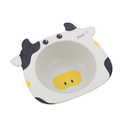 Детская тарелка из бамбука BoxShop Cow (DP-4717)