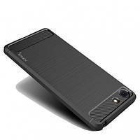 Защитный чехол iPaky Slim с карбоновыми вставками для Sony Xperia XZ4 Compact черный