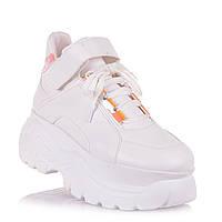 Белые кроссовки на высокой платформе для девочек NBB X-kids/FrreHeart 12.2.149 (36-40)