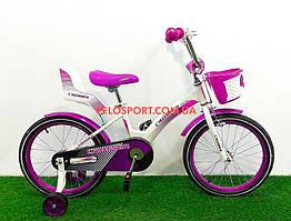 Детский велосипед Crosser Kids Bike 18 дюймов фиолетовый