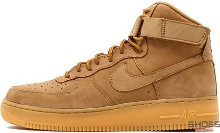 Мужские кроссовки Nike Air Force 1 High 07 LV8 Flax 882096-200, Найк Аир Форс, фото 2
