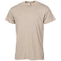 Футболки цвета тан (песочный цвет) армии США. Новые