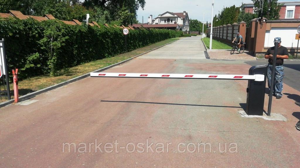 Шлагбаум Doorhan Barrier-4000 Pro с длиной стрелы 4 метра