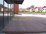 Террасная доска ДПК Prymus, цвет темно- коричневый, размер 140х25х2400/4000 мм, фото 6