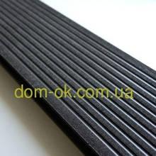 Террасная доска ДПК Prymus, цвет светлый графит, размер 140х25х2400/4000 мм