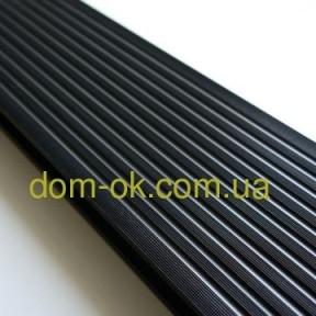 Террасная доска ДПК Prymus, цвет  графит, размер 140х25х2400/4000 мм