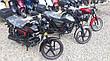 Мопед Hornet Alpha 125cc чорний колір, фото 6