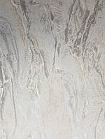 Виниловые  обои на флизелиновой основе Decoprint  Nubia  NU19121 под мрамор бежевые с серым