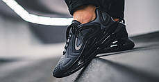 Мужские кроссовки Nike Air Max 720 Black Total Eclipse AO2924-004, Найк Аир Макс 720, фото 3