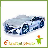 """Кровать для мальчика """"BMW Space"""" в 2 цветах"""