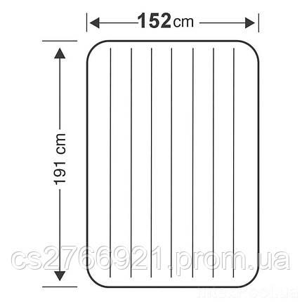 Надувной матрас Intex 68759, 152 х 203 х 22 см. Двухместный, фото 2
