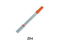 Металлическая телескопическая ручка для валика Boldrini s.00022 2м