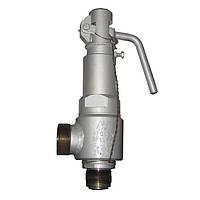 Клапан предохранительный пружинный штуцерно-торцевой 17с42нж Ду 25/32 Ру 16 Dc 16