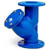 Фильтр фланцевый осадочный для воды Ру16 Ду 100