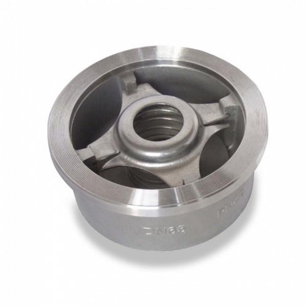Клапан обратный межфланцевый подпружиненный AISI 316 арт 656 IVR Ру25 Ду 150