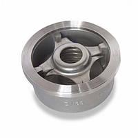Клапан обратный межфланцевый подпружиненный AISI 316 арт 656 IVR Ру25 Ду 200