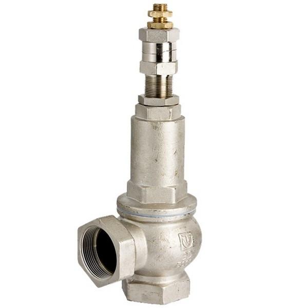 Клапан предохранительный латунный муфтовый подпружиненный VT.1831 Valtec(1-12 атм) Ду25