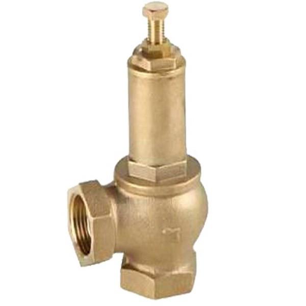 Клапан предохранительный латунный муфтовый подпружиненный IVR (1-12 атм) Ду 15