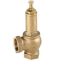 Клапан предохранительный латунный муфтовый подпружиненный IVR (1-12 атм) Ду 32