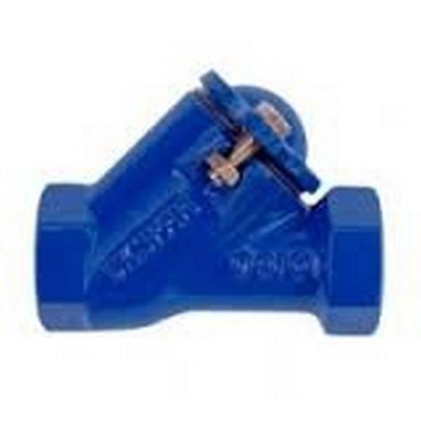 Клапан обратный муфтовый чугунный канализационный шаровый арт С302 Ру16 К Ду 25