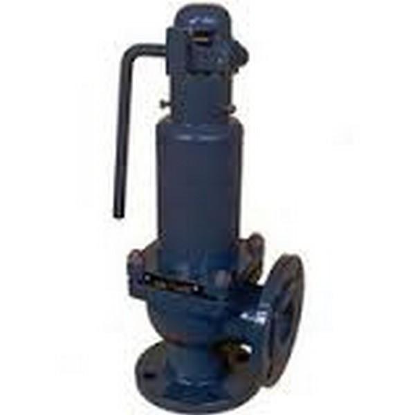 Клапан предохранительный стальной фланцевый СППК-4Р 17с16нж Ру64 Ду50/80