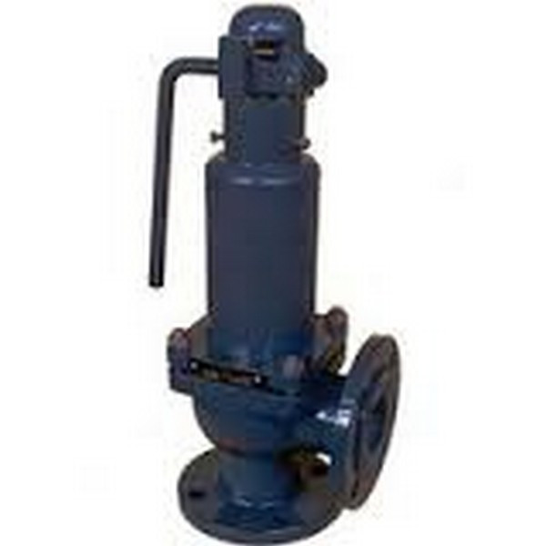 Клапан предохранительный стальной фланцевый СППК-4Р 17с16нж Ру64 Ду80/100