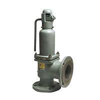 Клапан предохранительный стальной фланцевый СППК-4Р 17с80нж Ру160 Ду100/125