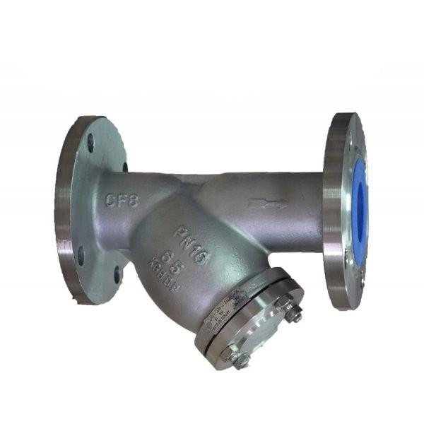 Фильтр нержавеющий фланцевый AISI 304 Ру16 Ду 100