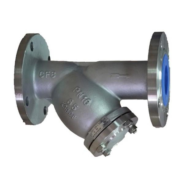Фильтр фланцевый осадочный 316 н/ж сталь К Ру16 Ду 50