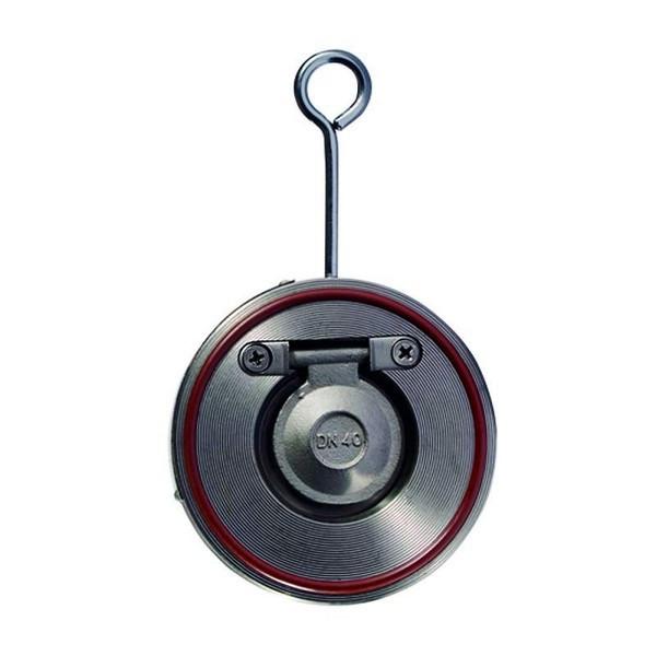 Клапан обратный межфланцевый стальной одностворчатый арт С212 Ру16 К Ду 40